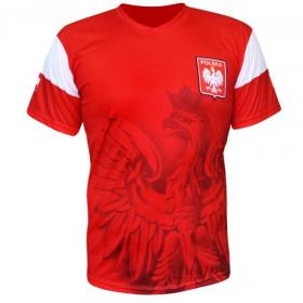 Koszulka kibica Orzeł (czerwona)