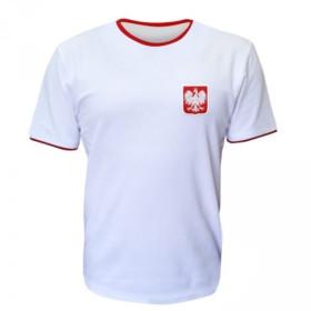 Koszulka patriotyczna - Godło - biała