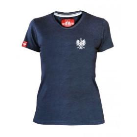 Koszulka patriotyczna damska Orzeł - jeans