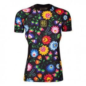 Koszulka termoaktywna damska krótki rękaw FOLK2