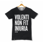 "Koszulka ""Volenti Non Fit Iniuria"" - grafitowa"