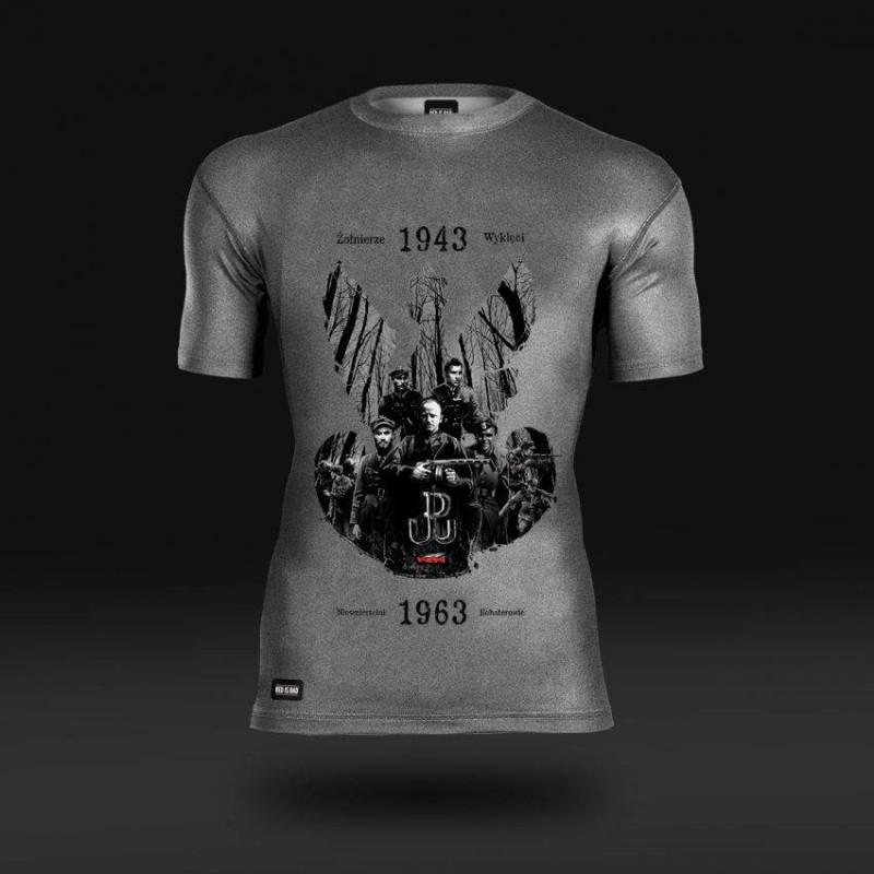 Koszulka termoaktywna Żołnierze Wyklęci: Nieśmiertelni Bohaterowie