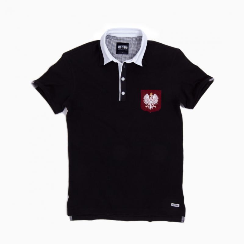 Koszulka Rugby polo z Polskim Orłem
