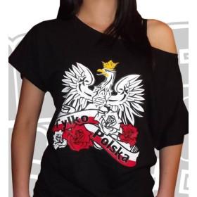 Koszulka Tylko Polska (sexy)