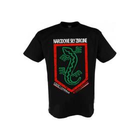 """Koszulka Patriotyczna """"Narodowe Siły Zbrojne"""" czarna"""
