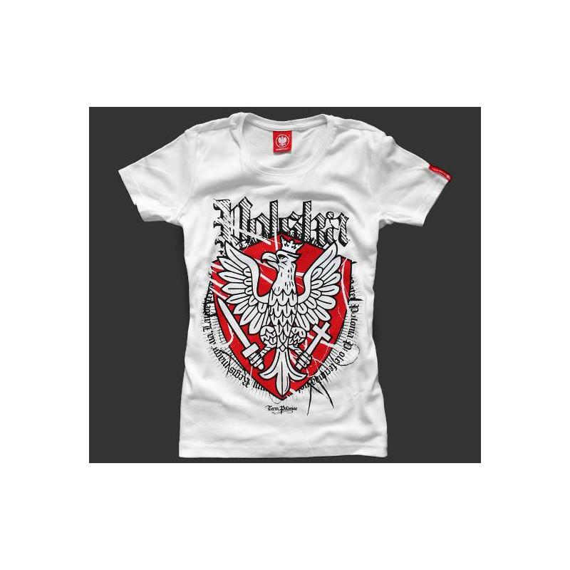 Koszulka patriotyczna damska Polska