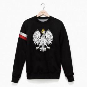Bluza Orzeł Polski z biało-czerwoną opaska
