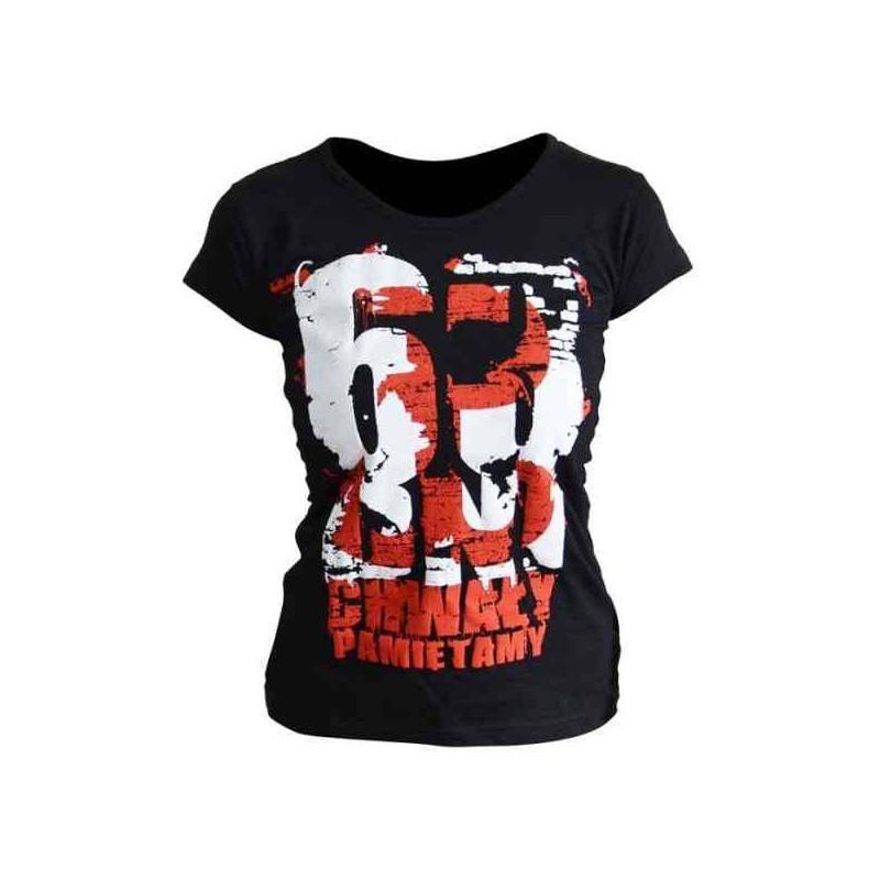 Koszulka patriotyczna damska 63 dni chwały