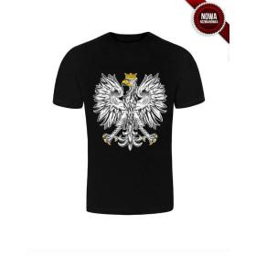 Koszulka patriotyczna Orzeł (czarna) STYL