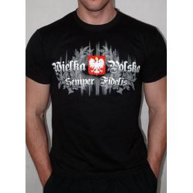 Koszulka Patriotyczna Wielka Polska (czarna)