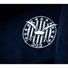 Koszulka patriotyczna polo Dywizjon 303 (ciemno granatowa)