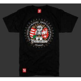 Koszulka patriotyczna Polak Węgier (czarna)