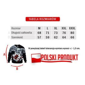 Bluza patriotyczna Polska Walcząca (popielata)