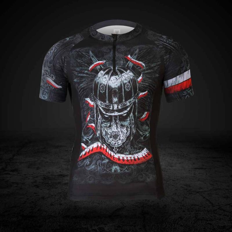Koszulka rowerowa Husaria - Nieustraszeni Wojownicy - długi rękaw