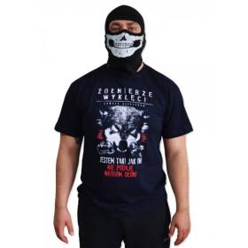 """Koszulka patriotyczna """"Żołnierze Wyklęci"""" - granatowa"""
