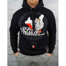 Bluza patriotyczna z kapturem Wielka Polska