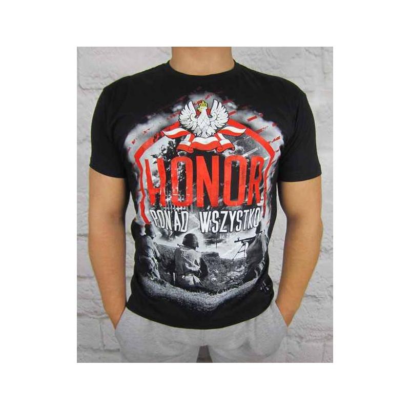 Koszulka Patriotyczna Honor ponad wszystko