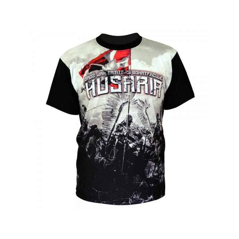 Koszulka patriotyczna sublimacyjna Husaria