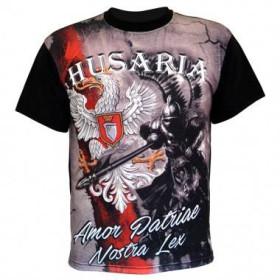 Koszulka patriotyczna sublimacyjna Husaria Amor Patriae Nostra Lex