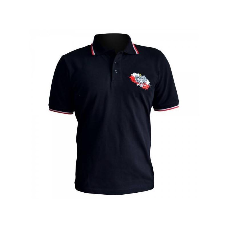 Koszulka Patriotyczna Polo Orzeł
