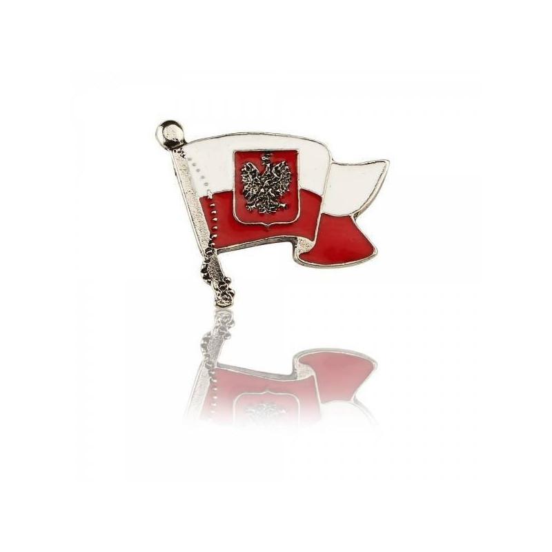 Wpinka Patriotyczna Polska Flaga