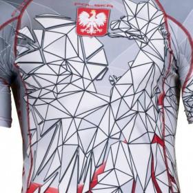 Koszulka termoaktywna Polski Orzeł - długi rękaw