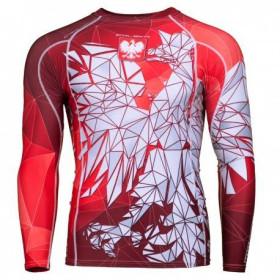 Koszulka termoaktywna Orzeł Sport długi rękaw (CZERWONA)