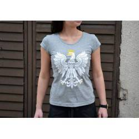 Koszulka patriotyczna damska Orzeł