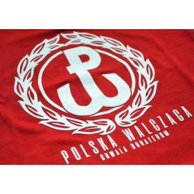 """Koszulka patriotyczna dziecięca """"Orzeł"""" - czerwona"""