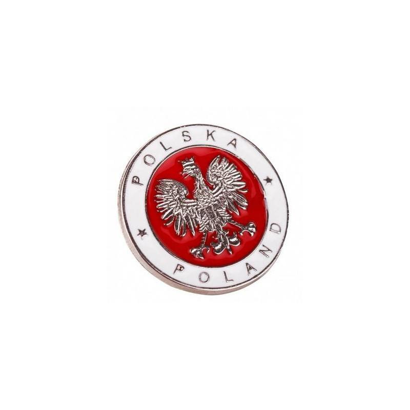 Wpinka Patriotyczna Polska Walcząca Biało-Czerwony