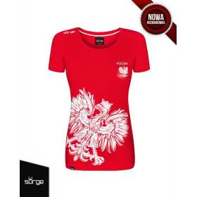 Koszulka patriotyczna Orzeł Sport damska godło