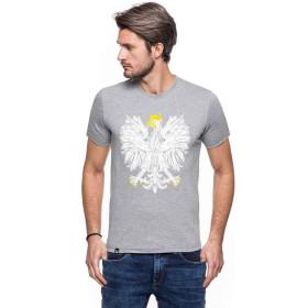 Koszulka patriotyczna Orzeł (popiel) STYL