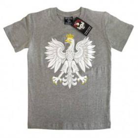 Koszulka patriotyczna dziecięca Orzeł (melanż)