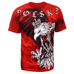 Koszulka patriotyczna Polska ponad życie