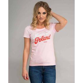 Koszulka patriotyczna Made in Poland damska Surge