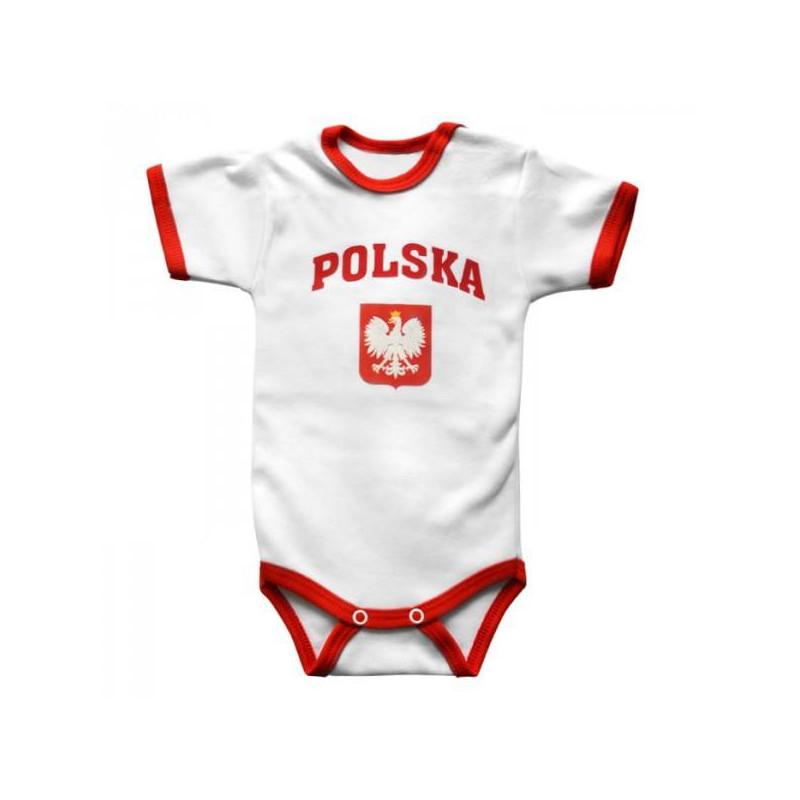 Koszulka patriotyczna dziecięca Polska