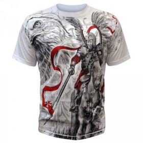Koszulka patriotyczna Husarz (biała)