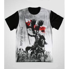 """Koszulka Patriotyczna """"Husaria Siła i Honor"""""""