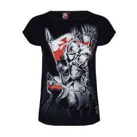 Koszulka Patriotyczna damska Husaria Amor (cz)
