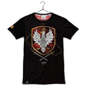 Koszulka patriotyczna Królestwo Polskie (Czarna)