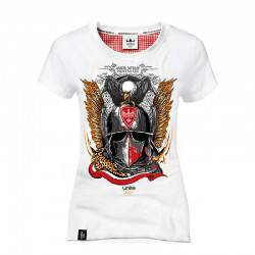 Koszulka patriotyczna damska Husarz elitarna kawaleria (b)