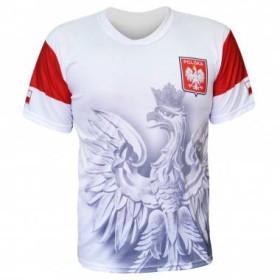 Koszulka piłkarska Polska (biała)