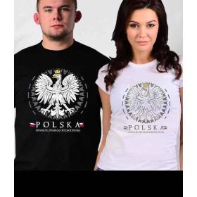 Koszulka patriotyczna damska  Polski Orzeł (b)