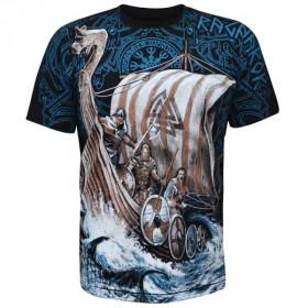 Koszulka uliczna Viking - Drakkar Ragnarok