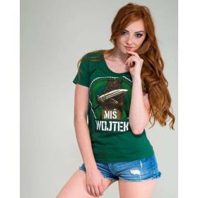 Koszulka patriotyczna damska Miś Wojtek