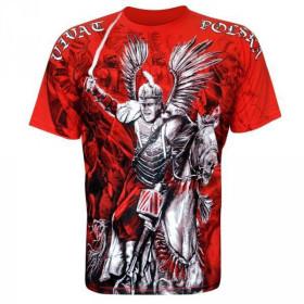 Koszulka patriotyczna Husaria - Vivat Polska