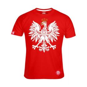 Patriotyczna koszulka męska Orzeł (cze)