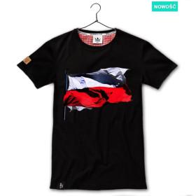 Patriotyczna koszulka męska Flaga - (cz)