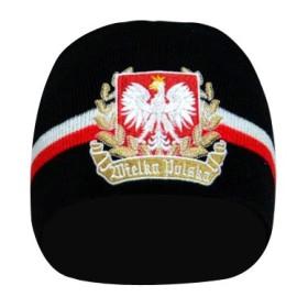 Czapka patriotyczna zimowa Wielka Polska
