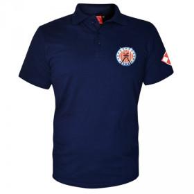 Koszulka patriotyczna polo Dywizjon 303 - granatowa
